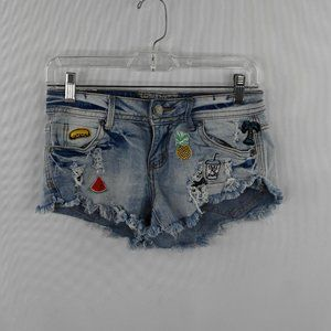 Hot Kiss Denim Shorts SZ: 0